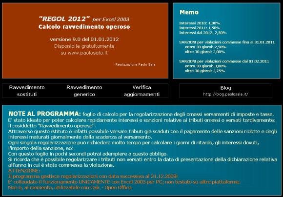 Ravvedimento operoso 2012