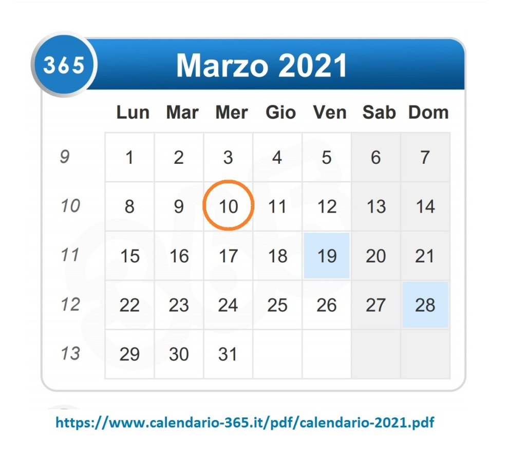Calendario marzo, scadenza ravvedimento invio dichiarazione redditi e Irap